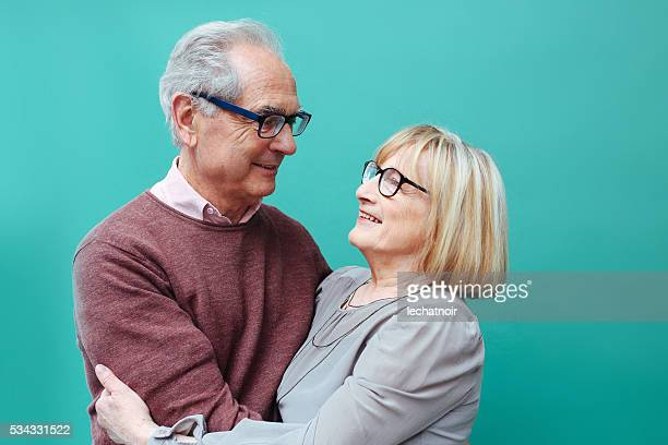 senior couple in love - share my wife photos stock photos and pictures