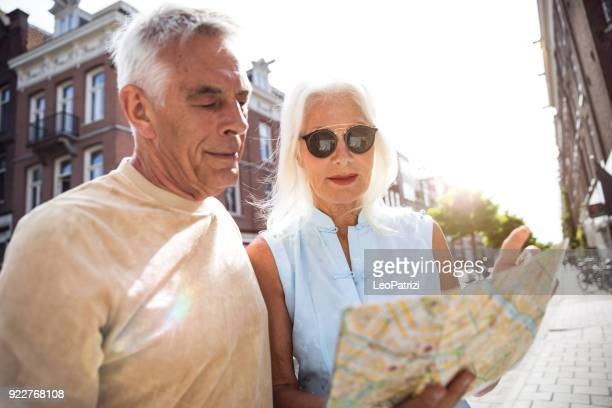 Senior couple in vacation