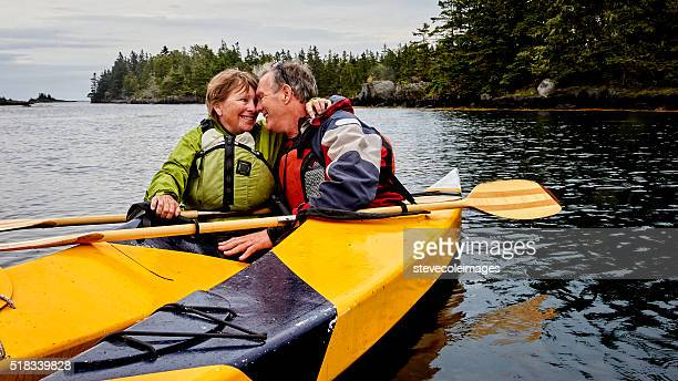 Senior Couple Kayaking