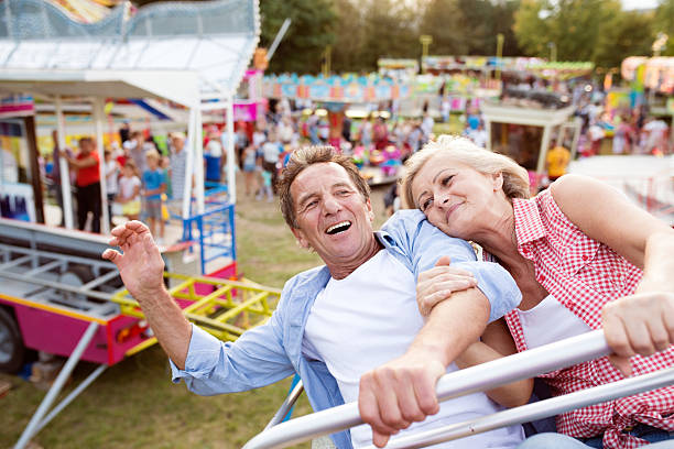 amusement park and senior citizen Disney world's theme parks are large expanses with miles of concrete pathways that can be confusing and disorienting seniors paired with exuberant grandchildren can find themselves outpaced in.