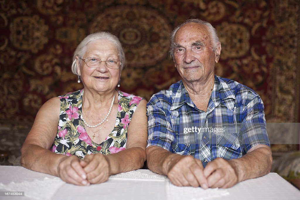 senior couple : Stock Photo
