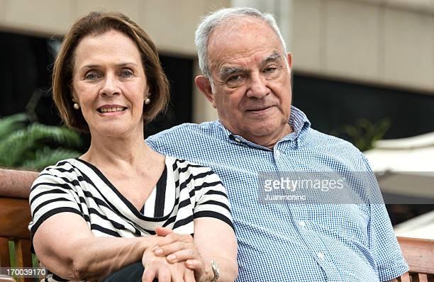 Senior Couple (focus on man)