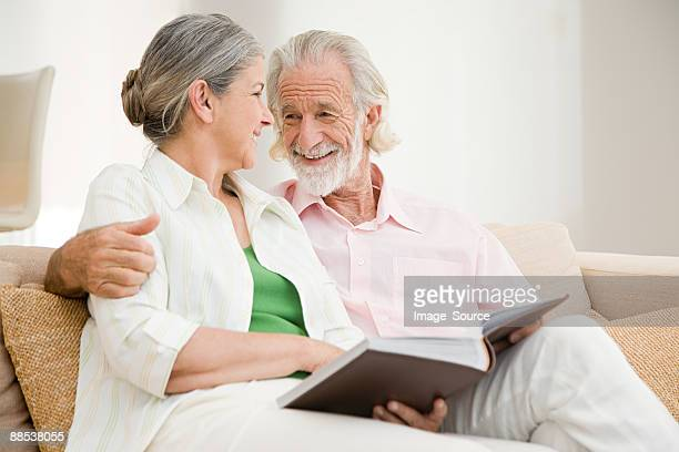 Ein senior Paar