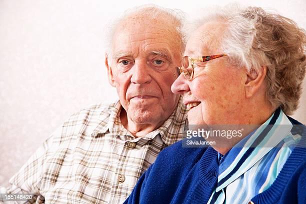 senior couple portrait