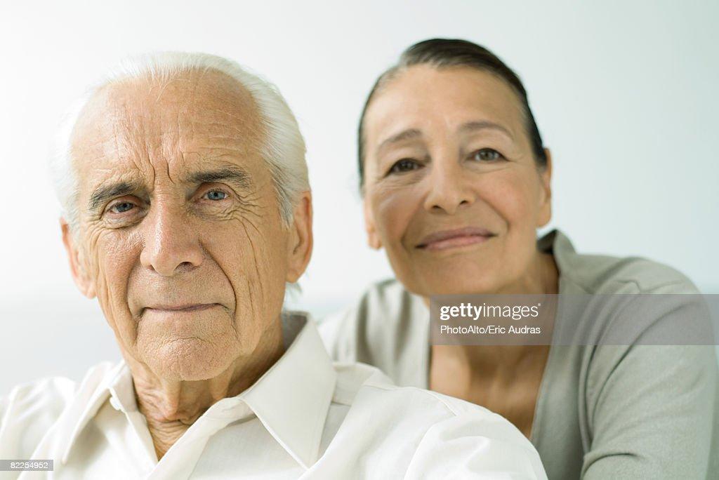 Senior couple, portrait : Stock Photo