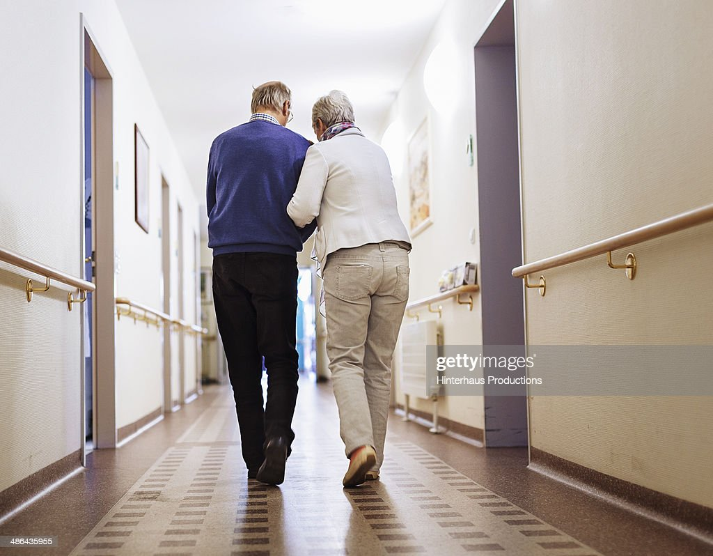 Senior Couple Senior Home : Stock Photo