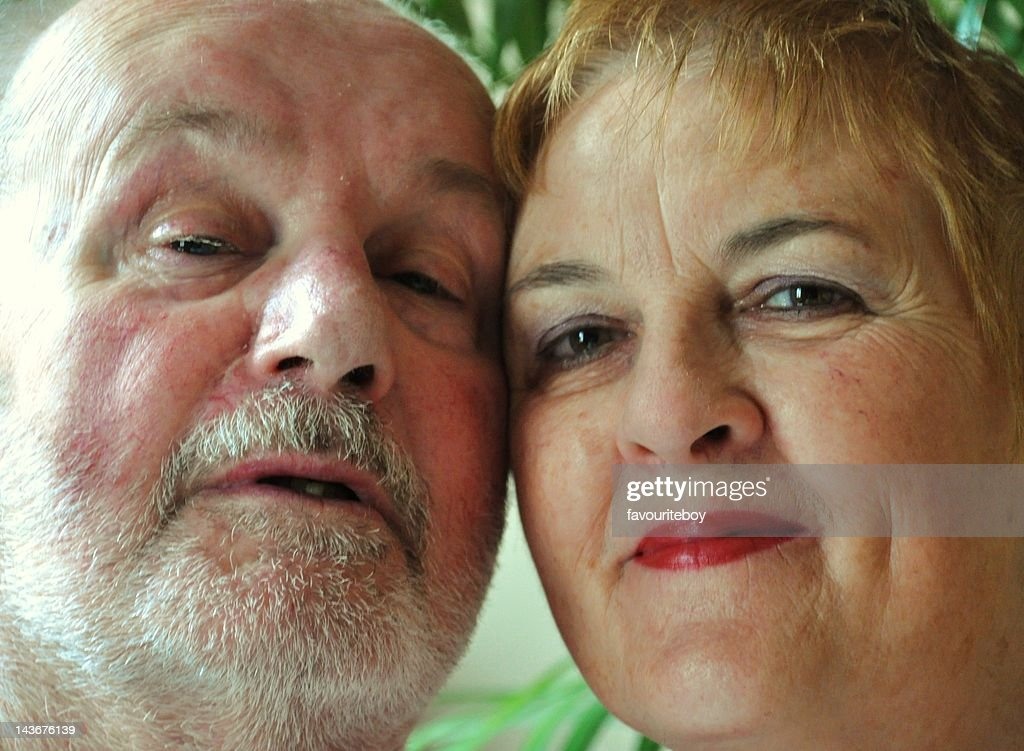 Senior couple together : Stock Photo