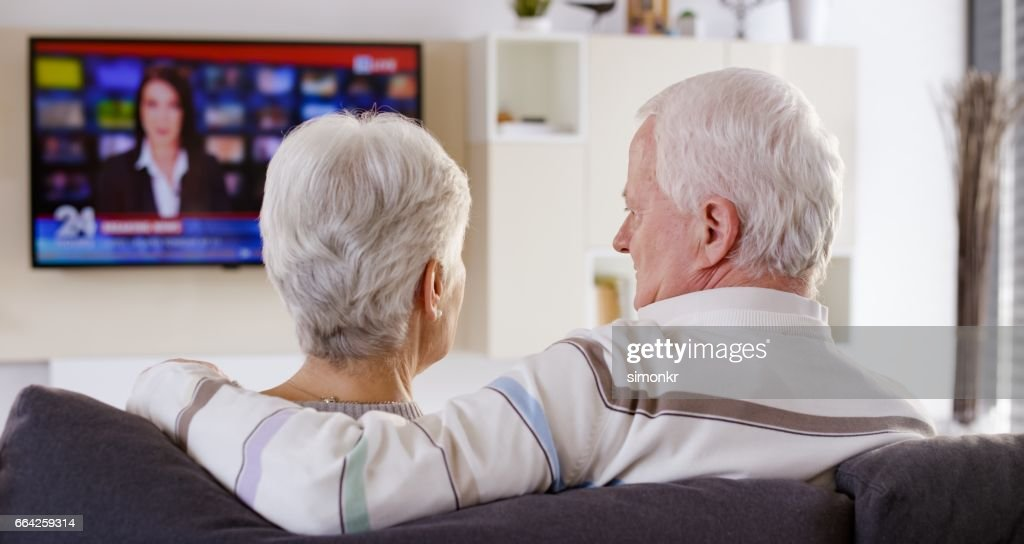 Four Old People Shocked By Image On A Computer Monitor