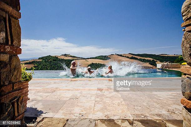 Senior Couples Making a Big Splash in Italy!