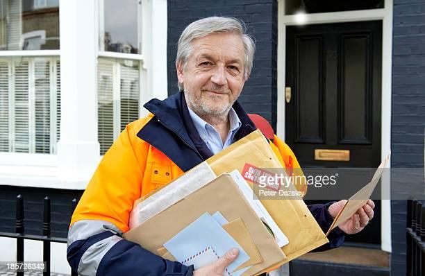 Senior courier/postman