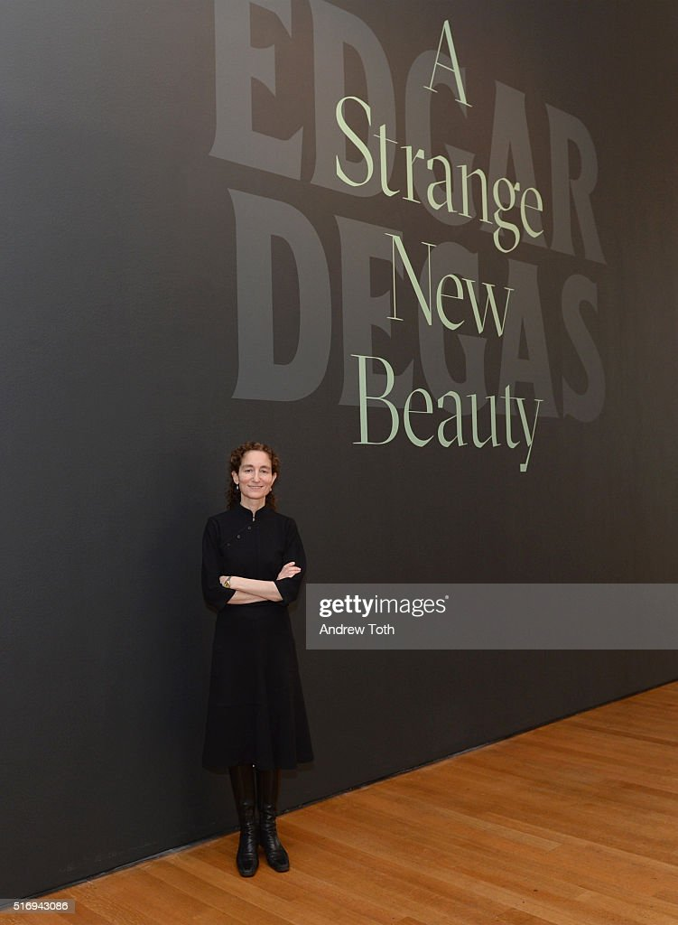 Senior Curator of Drawings and Prints Jodi Hauptman attends the 'Edgar Degas: A Strange New Beauty' exhibition press preview at Museum of Modern Art on March 22, 2016 in New York City.