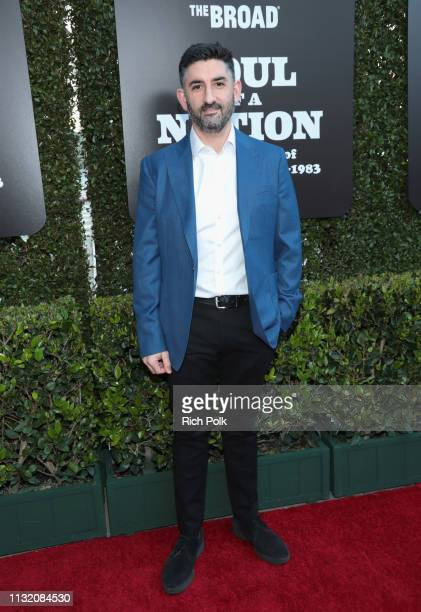 Senior Curator of International Art at Tate Modern Mark Godfrey attends The Broad Museum celebration for the opening of Soul Of A Nation Art in the...