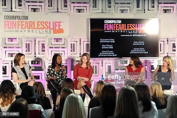 Senior Deputy Editor at Cosmopolitan Magazine Sara Austin cofounder of #BlackLivesMatter Opal Tometi Annie Clark cofounder of End Rape on Campus...