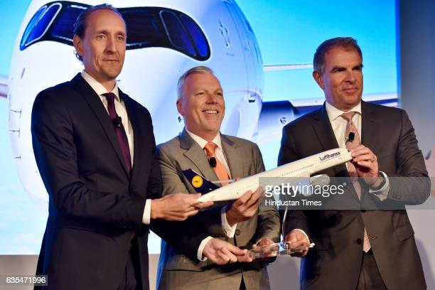 Senior Director for South Asia at Lufthansa Group Airlines Wolfgang Will Vice President Asia Pacific Lufthansa Group Airlines Dieter Vranckx and CEO...
