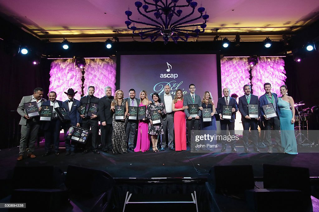 2016 ASCAP Latin Music Awards - Show