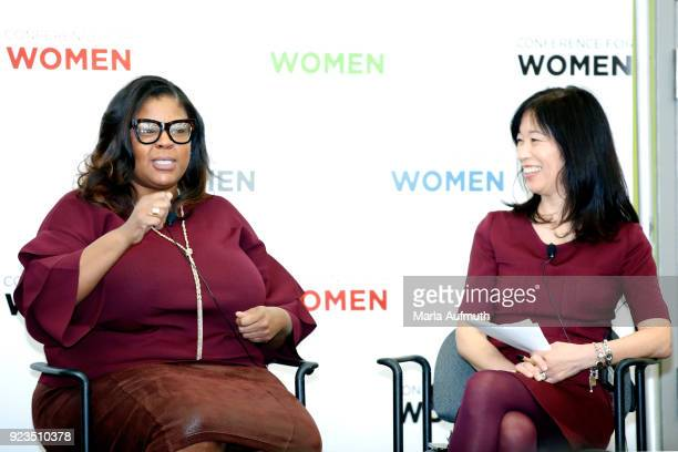 Senior director of global equality programs Salesforce Molly Q Ford and Executive director Clayman Institute for Gender Research Stanford University...
