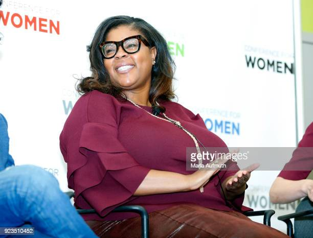 Senior director of global equality programs Salesforce Molly Q Ford speaks at the Watermark Conference for Women 2018 at San Jose Convention Center...