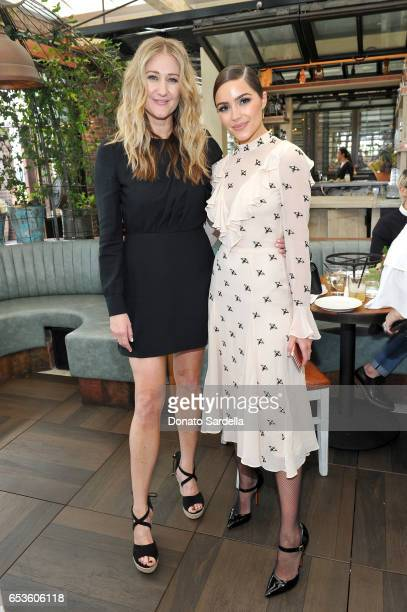 Senior Director of Global PR Alice Hampton and Olivia Culpo attend UGG SS17 campaign luncheon hosted by Rosie HuntingtonWhiteley and Rachel Zoe at...