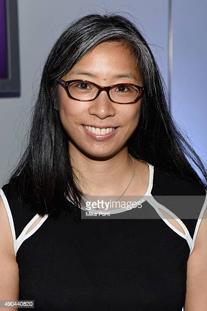 Senior Director of Marketing at Frito Lay North America Jeannie Cho poses at The Mobile CSuite panel during Advertising Week 2015 AWXII at the ADARA...