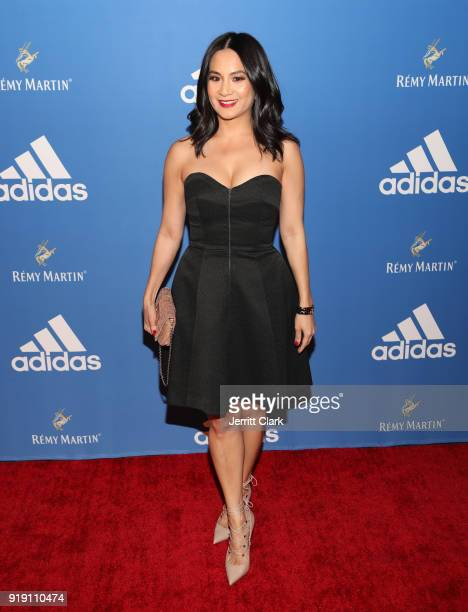 Senior Director of Marketing at Remy Martin ThuyAnh J Nguyen attends the Adidas Basketball Black Tie Party Presented by Remy Martin at Delilah on...
