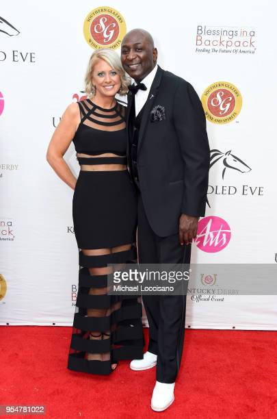Senior Director of Sales AEG/KFC Yum Center Robbie Valentine attends the Unbridled Eve Gala during the 144th Kentucky Derby at Galt House Hotel...