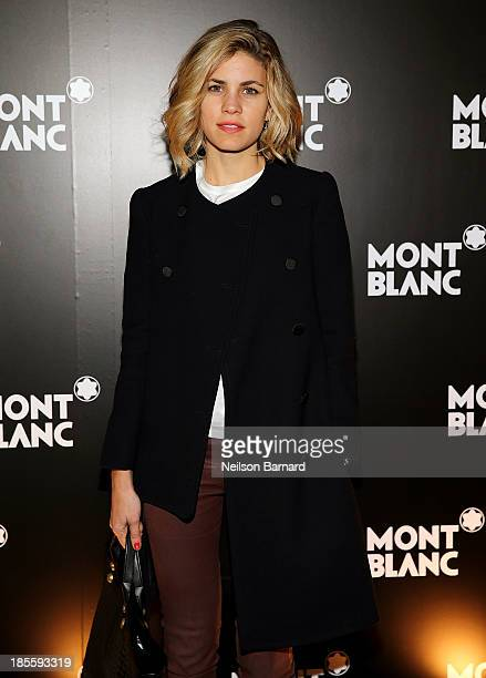 Senior Director of Sales at Reed Krakoff Bianca Duenas attends Montblanc celebrates Madison Avenue Boutique Opening at Montblanc Boutique on Madison...