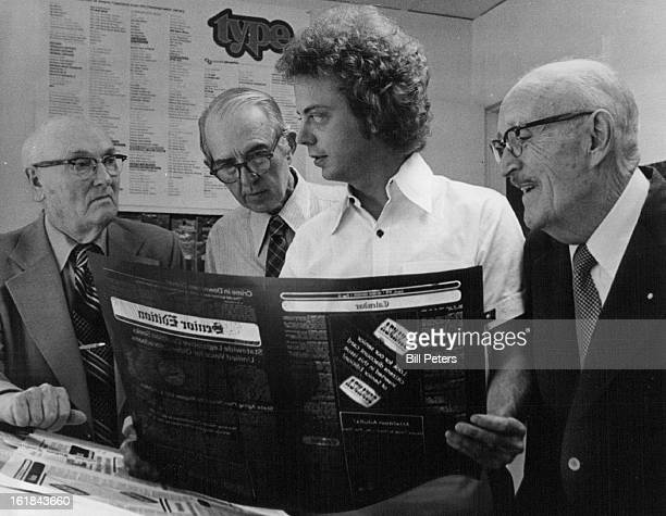 AUG 1 1978 AUG 8 1978 AUG 9 1978 Senior Edition Editor Bob Moses at elderly