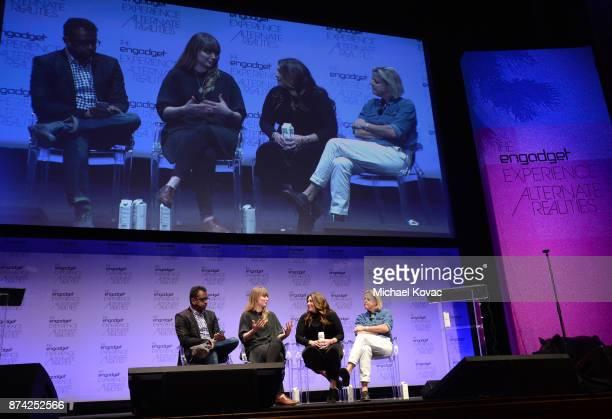 Senior Editor Engadget Devindra Hardawar New Frontier Labs Program Manager Sundance Institute Ruthie Doyle SVP of Immersive Media Technicolor...