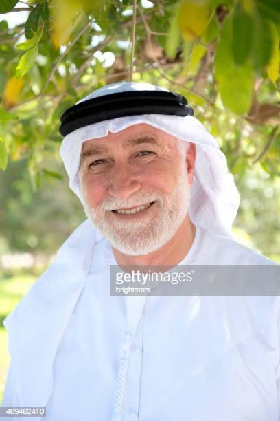 Senior Emirati man portrait