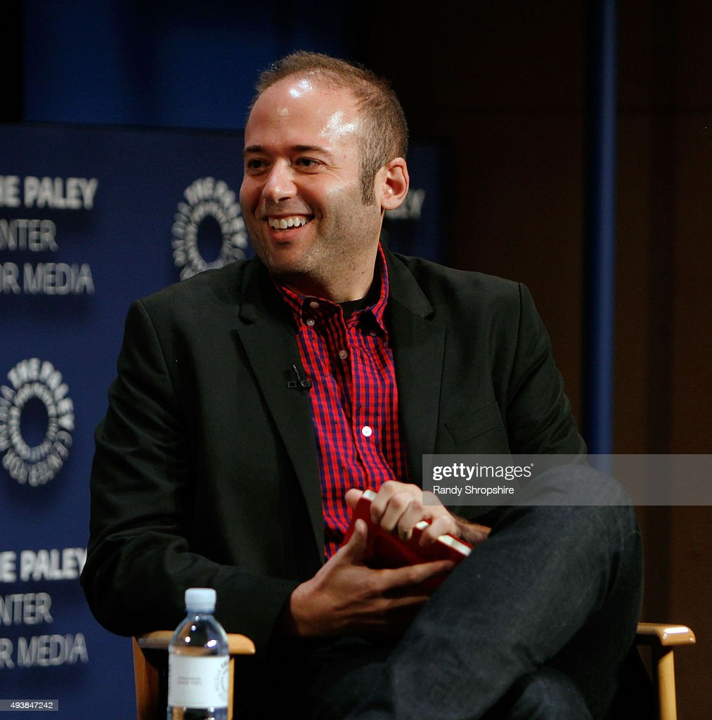 Senior entertainment editor of Buzz Feed News Jarett Wieselman attends the discussion panel for 'Please Like Me' at The Paley Center for Media on October 22, 2015 in Beverly Hills, California.