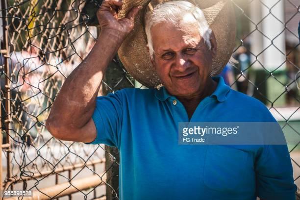 上級農家/田舎男 - ミナスジェライス州 ストックフォトと画像