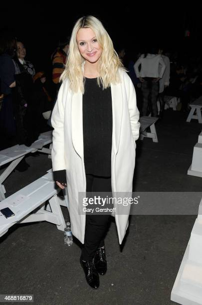Senior Fashion Editor of Marie Claire Magazine and TV personality, Zanna Roberts Rassi attends the ICB By Prabal Gurung Show during Mercedes-Benz...