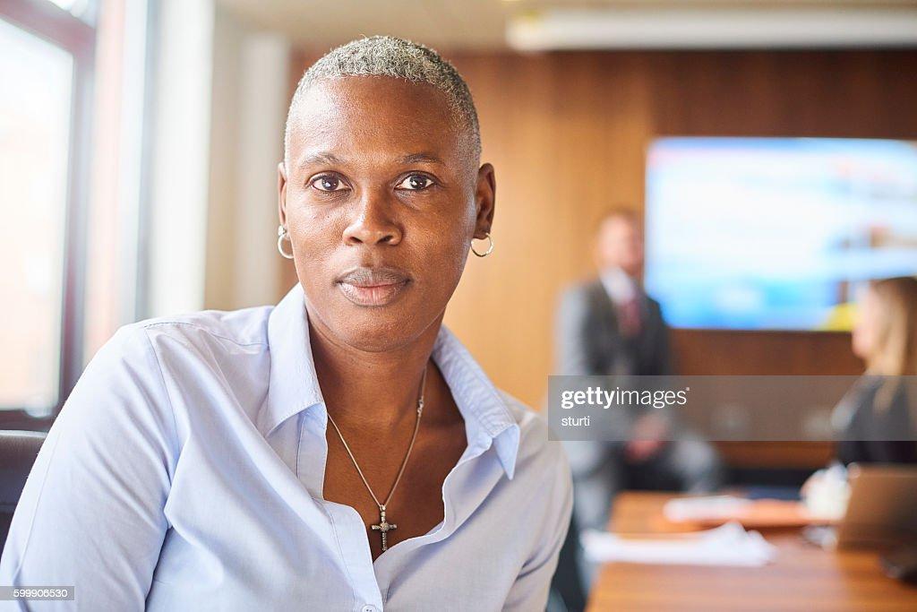 senior female company director : Stock-Foto