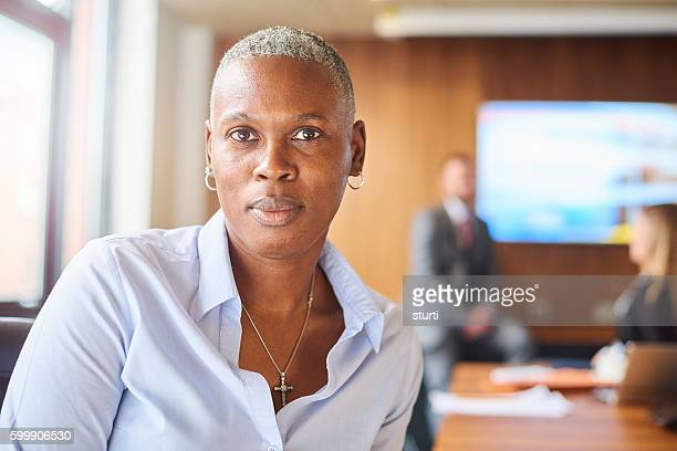 senior female company director - androgynous stock pictures, royalty-free photos & images