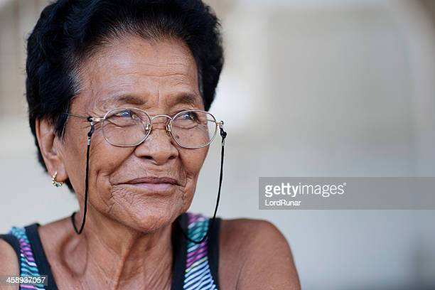 senior filipino woman - old manila stock pictures, royalty-free photos & images