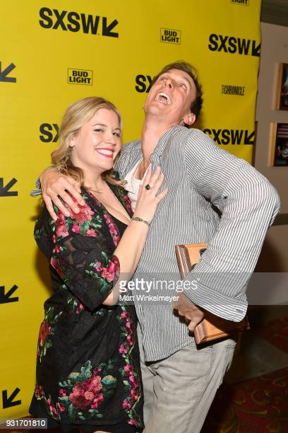 Senior Film Programmer Claudette Godfrey and Vimeo Staff Picks Award winner Danny Madden attends the SXSW Film Awards Show 2018 SXSW Conference and...