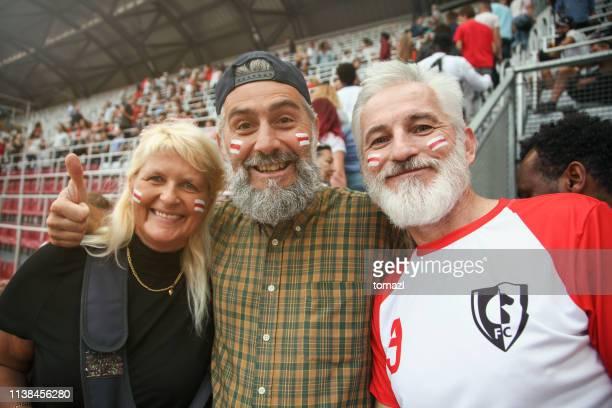Seniorenfreunde Porträt bei einer Sportveranstaltung