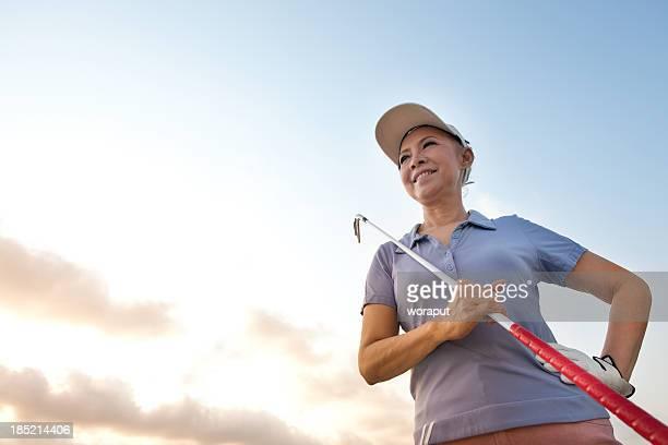 Ältere golfer