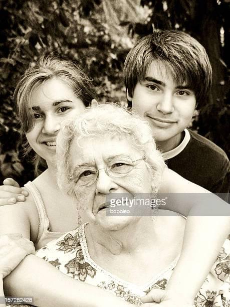 senior - grandchildern