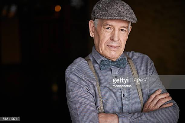 senior hipster - suspenders stock pictures, royalty-free photos & images