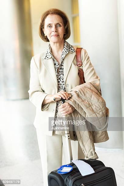 Senior Hausfrau Reisen