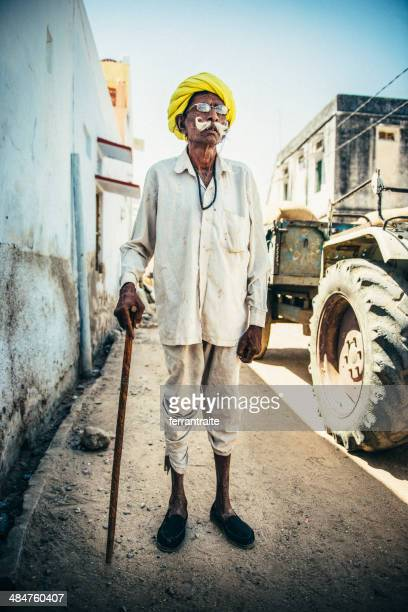 Senior Indian Farmer
