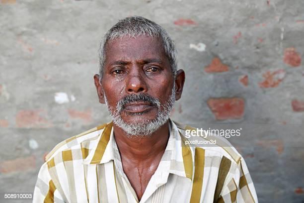 Senior Indian men portrait