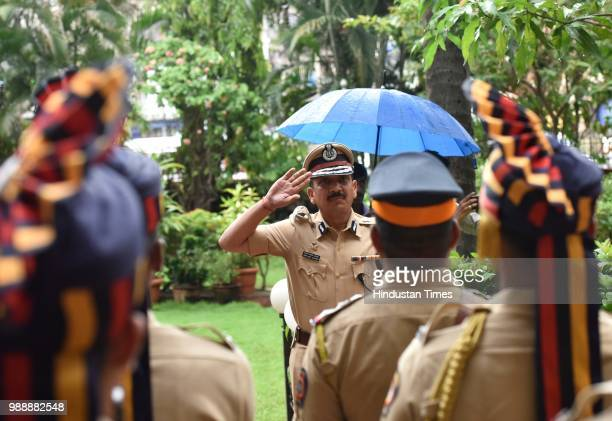 Senior Indian Police Services officer Subodh Kumar Jaiswal appointed new police commissioner of Mumbai at Commissioner of Police office on June 30...