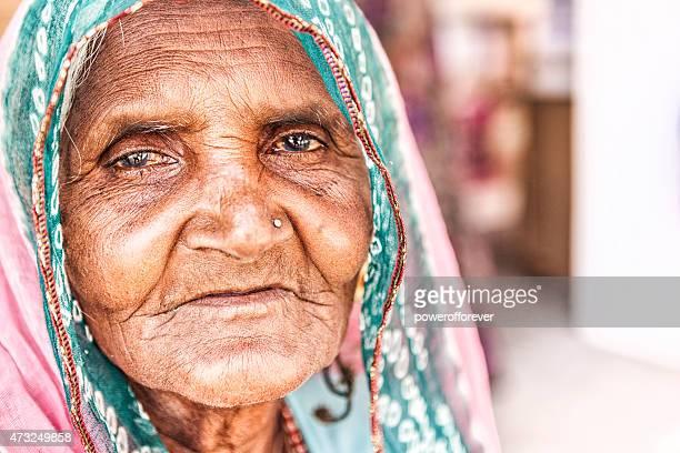 Senior Indian Woman Portrait
