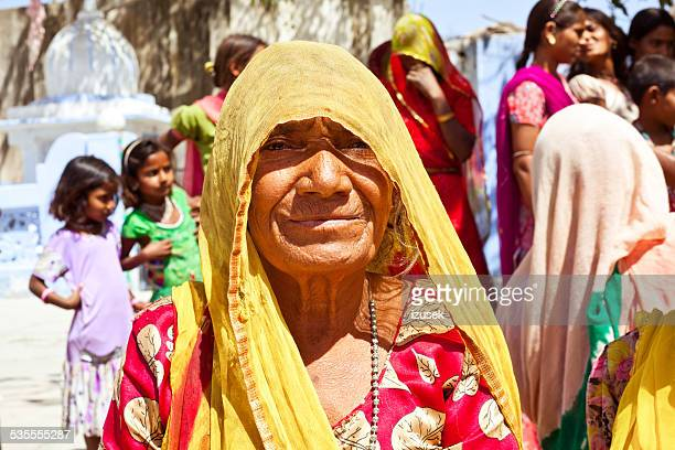 senior indian woman wearing traditional clothes - izusek stock photos and pictures