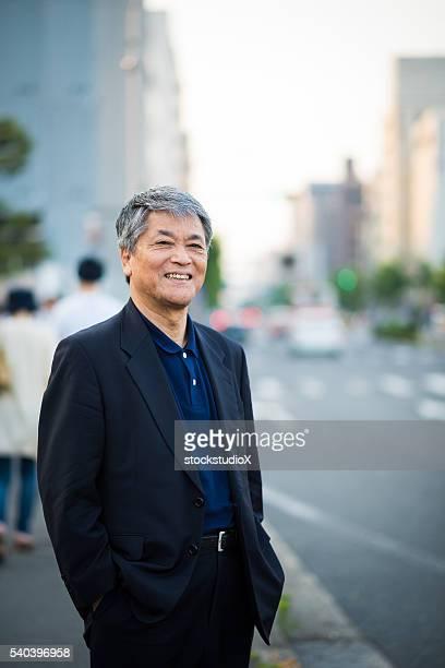 Senior Japanese man