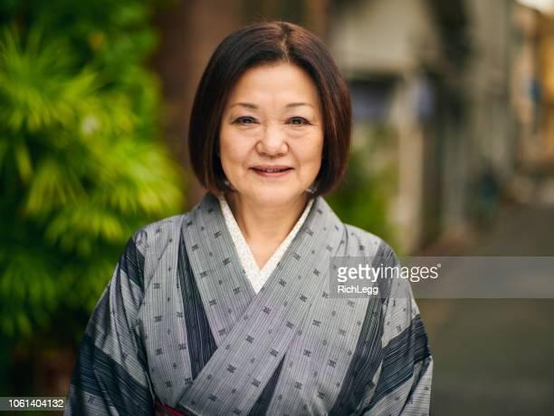 Senior Japanese Woman