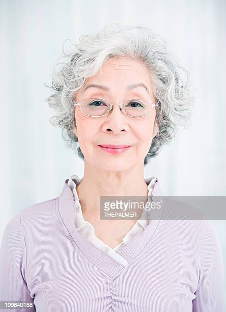 senior japanese woman