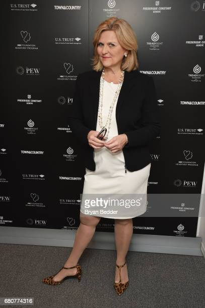 Senior Legal and Investigative Correspondent for NBC News Cynthia McFadden attends the 4th Annual Town Country Philanthropy Summit at Hearst Tower on...